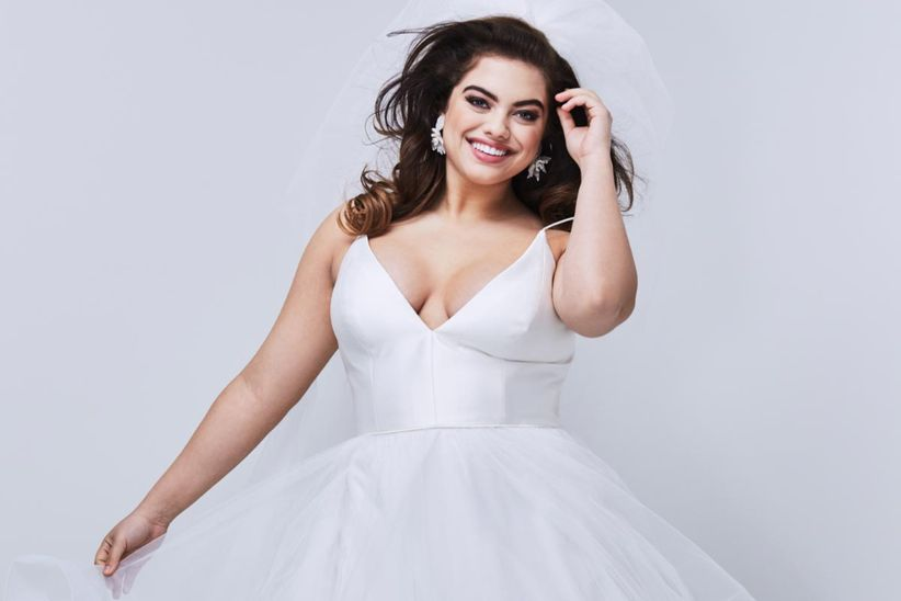 30 vestidos de novia para gorditas ¡y cásate con tus curvas! - bodas