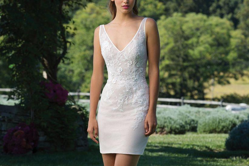 25 vestidos de novia cortos ¡irresistibles! - bodas.mx