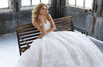 90 vestidos de novia corte princesa para coronar tu boda
