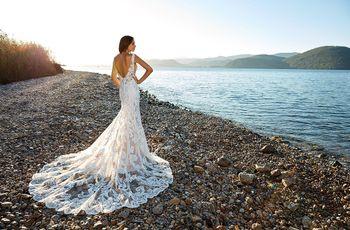 110 vestidos de novia de encaje: ¿te gustan imponentes o sencillos?