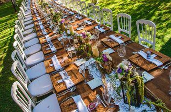 Manual de decoración para mesas rectangulares en el banquete