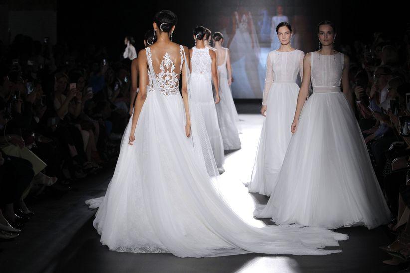 2e2d7a053 15 tendencias en vestidos de novia 2019  ¡estas son las más ponibles ...