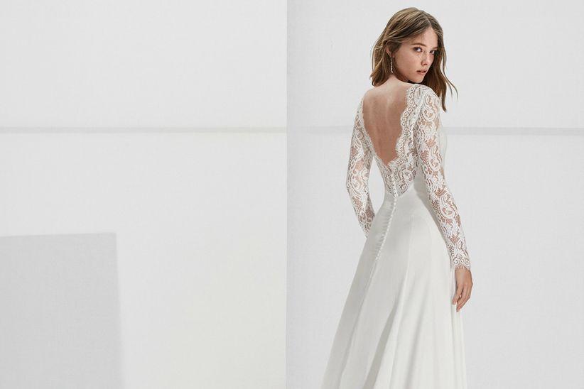 vestidos de novia alma novia: esa genuina sorpresa - bodas.mx