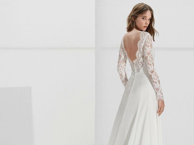 Vestidos de novia Alma Novia: esa genuina sorpresa