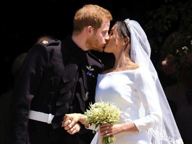 50 vestidos de novia parecidos a los de Meghan Markle