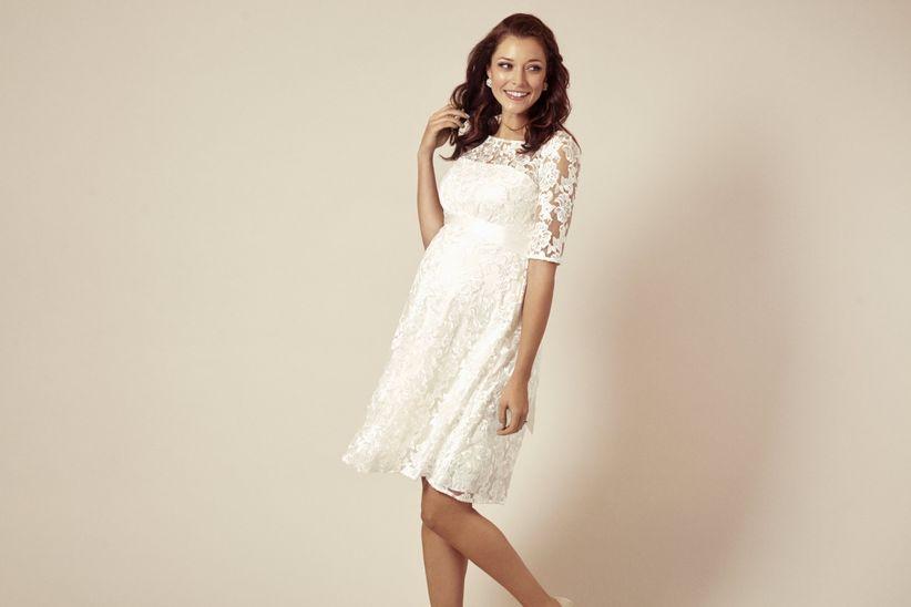 1e710f013 7 preguntas que se hacen todas las novias embarazadas - bodas.com.mx