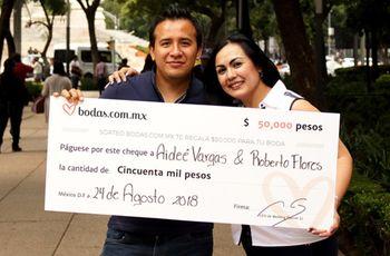 Aideé y Roberto, ganadores de nuestro sorteo, ya planean cómo celebrarlo