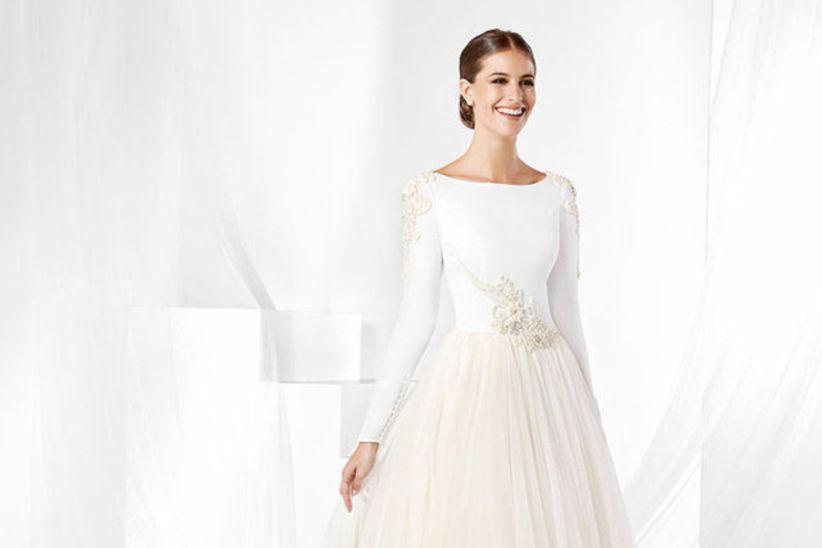 8c7531157 Vestidos de novia Franc Sarabia 2019