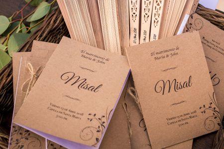 El misal de la boda religiosa: todo lo que necesitan saber