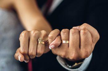 9 metales para sus anillos de boda: estúdienlos antes de elegir