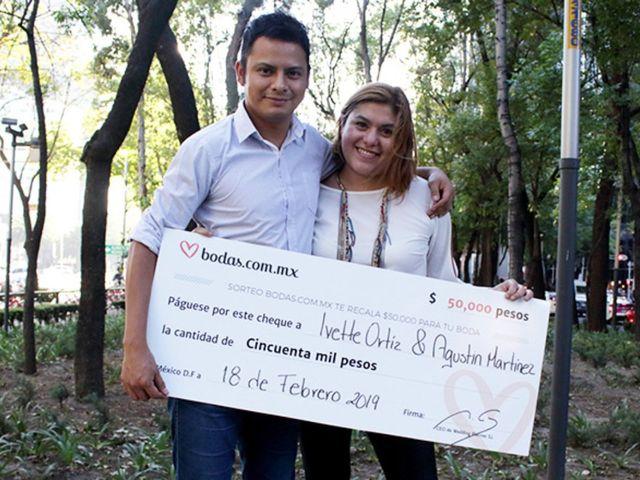 """Ivette y Agustín, a punto de decir """"sí, quiero"""", ¡ganaron nuestro sorteo!"""