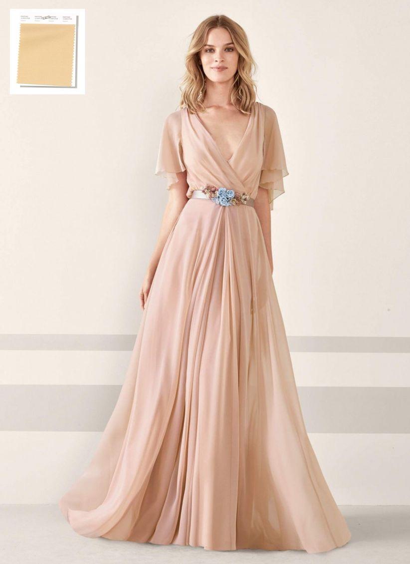 Vestidos de dama de honor para gorditas