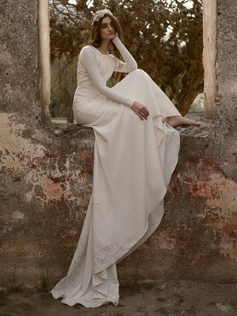 Vestidos de novia Claudia Toffano, una firma casada con el ...