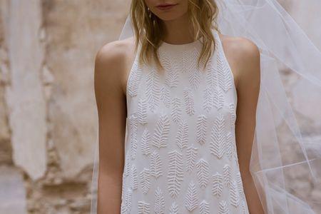Vestidos de novia Claudia Toffano, una firma casada con el arte textil indígena