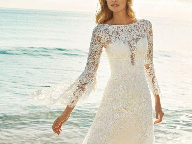 Reconoce los 9 tipos de encaje más habituales en vestidos de novia