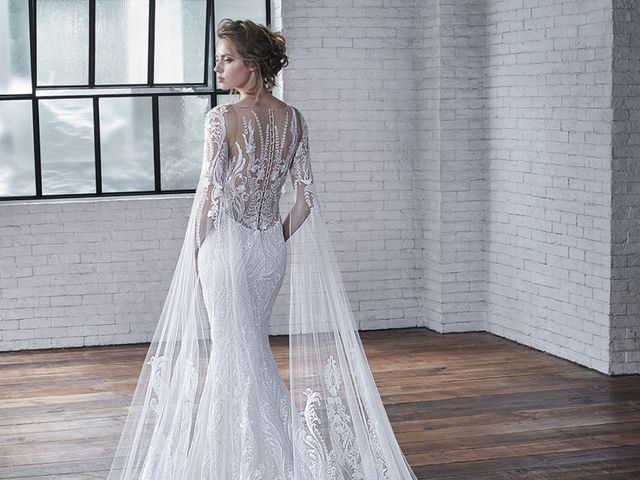 Vestidos de novia Badgley Mischka 2019, lujosamente sensuales