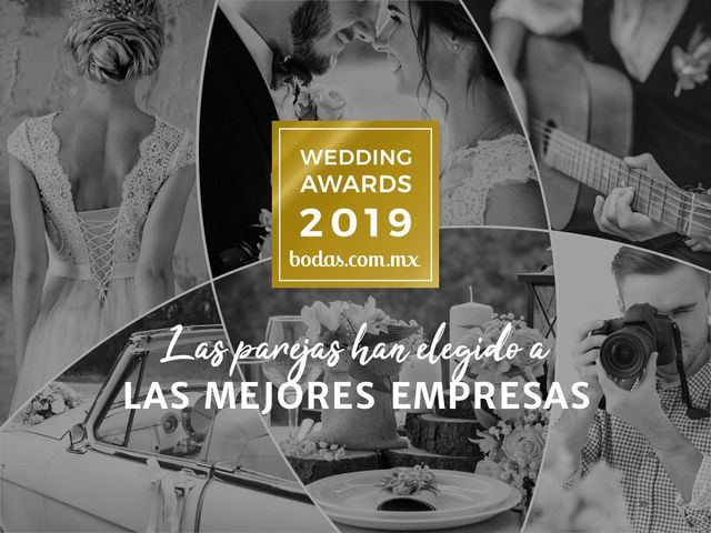 Descubran a los ganadores de los Wedding Awards 2019 de Bodas.com.mx