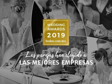 Descubran a los ganadores de los Wedding Awards 2019 de Bodas.com.mx