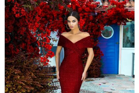 45 vestidos rojos de noche que te hipnotizarán