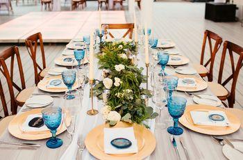 Tipos de mesas para el banquete: cuáles elegir y cómo decorarlas