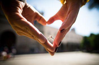 7 trucos para sacar una foto bonita al anillo de compromiso