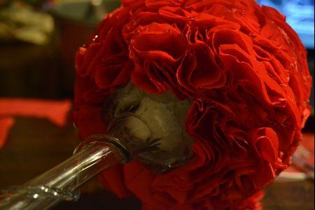 Haz tus propios topiarios para la boda con papel