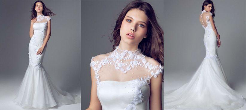 elegancia en vestidos blumarine 2014 - bodas.mx
