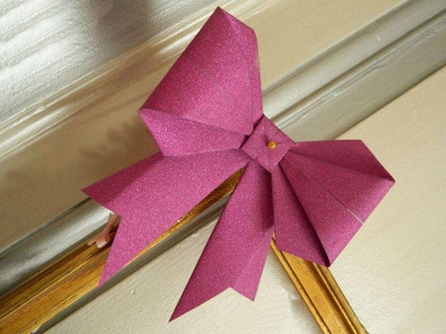 Haz tus propios moños origami