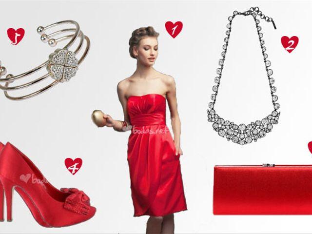 Look de invitada romance de febrero