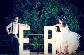 Esther y Ramón, una boda hecha a mano