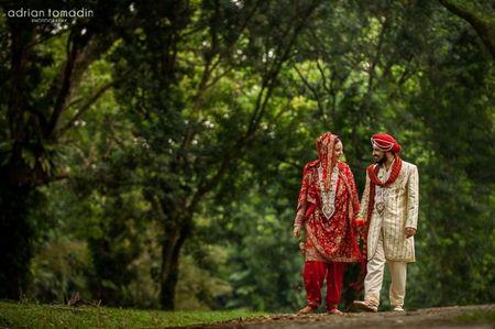 Una boda vibrante, colorida y hermosa en Singapur