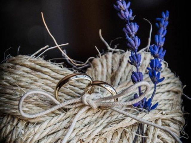 Porta alianzas para boda country