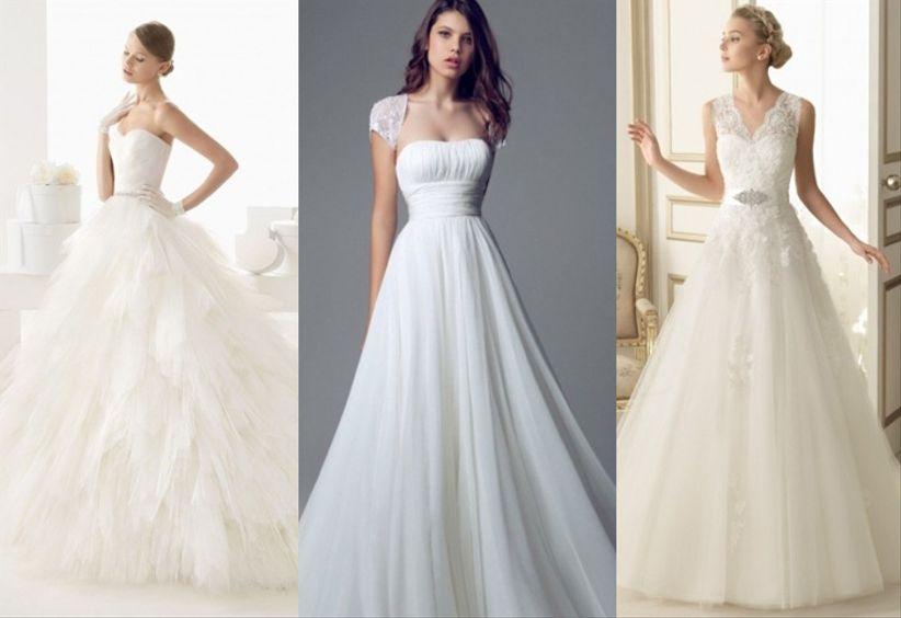 10 vestidos de novia románticos 2014 - bodas.mx