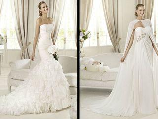 Vestido de novia celeste significado