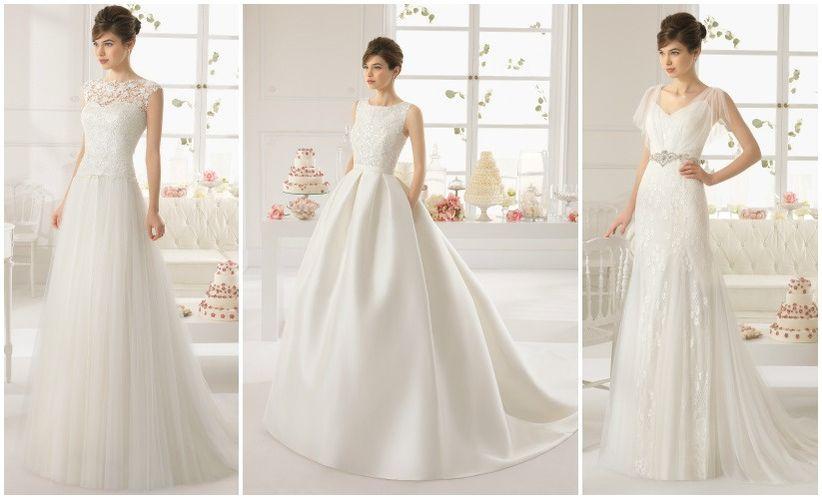vestidos de novia aire barcelona 2015 - bodas.mx