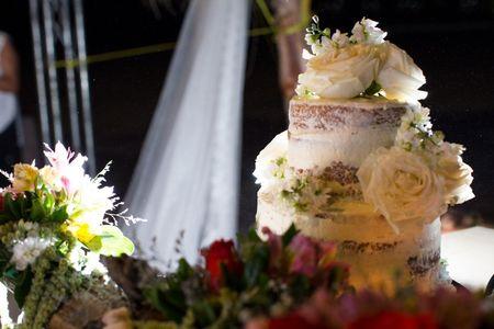 Adornos para el pastel de boda