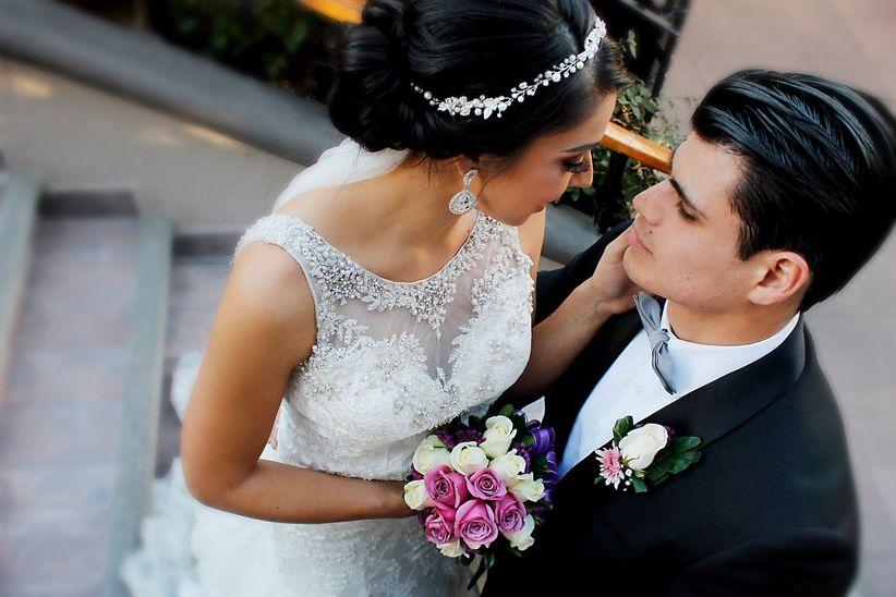 Aretes para vestido de novia