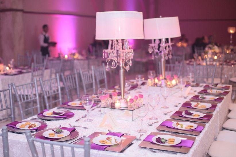 combinación de coloresmorado y plata - foro organizar una boda