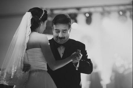 El baile con el pap� de la novia