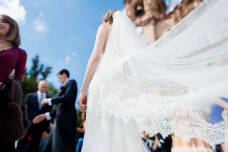 8 ideas originales para reutilizar el velo de novia