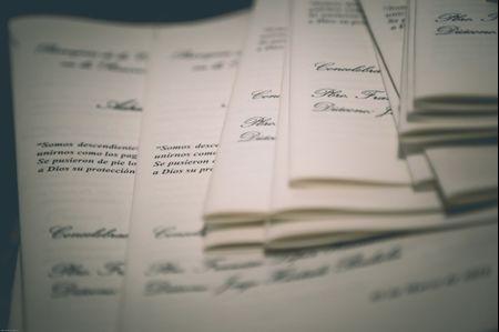 10 letras de canciones para las lecturas de la ceremonia