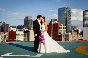"""""""Desde que te conocí supe que éramos el uno para el otro"""": la boda de Nicolás y Stefania en Polanco, Distrito Federal"""