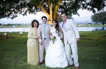 Los padrinos y las madrinas de boda
