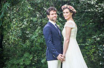 Una boda vintage y muy especial: no te pierdas la historia de Gilman y Priscila. ¡Te enamorará!