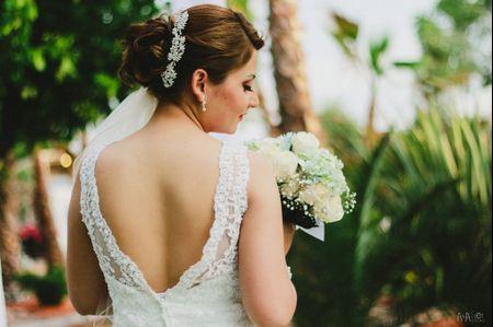 20 peinados recogidos para novia muy favorecedores