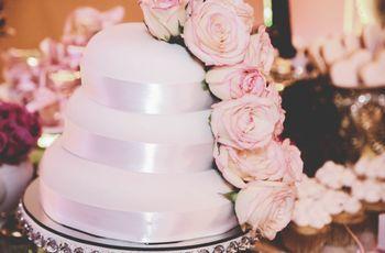 40 decoraciones de pasteles de boda: estilos que les harán suspirar