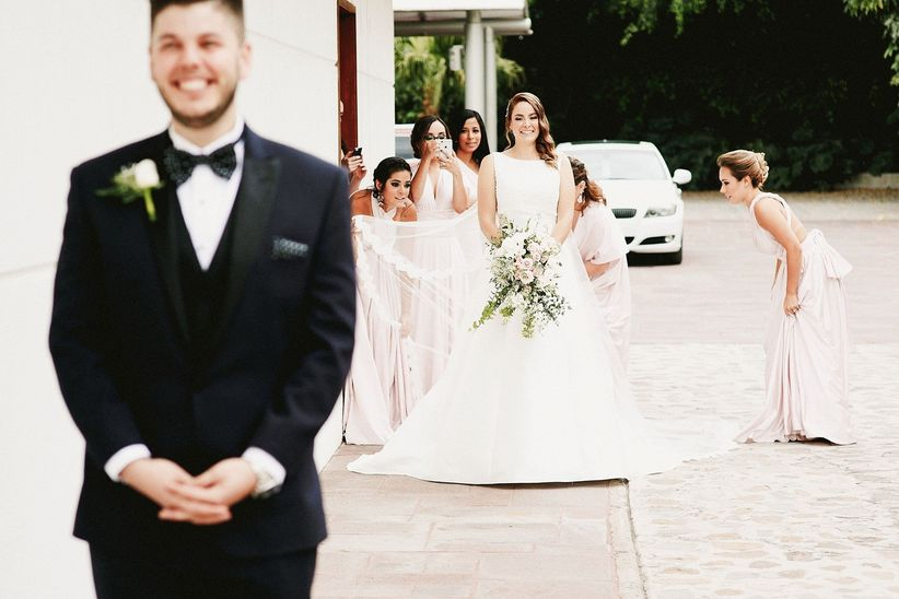 da mala suerte ver a la novia antes de la boda? - bodas.mx