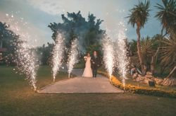 Juegos pirotécnicos en tu boda