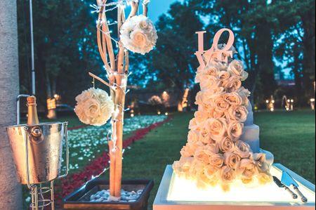 17 pasteles de boda decorados