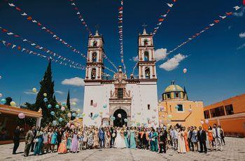 Las 11 iglesias más solicitadas para casarse en Puebla